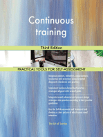 Continuous training Third Edition