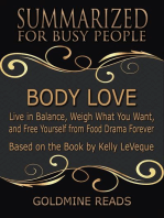 Body Love - Summarized for Busy People