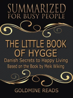 The Little Book of Hygge - Summarized for Busy People