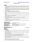 QA  - Sample Resume - CV Free download PDF and Read online
