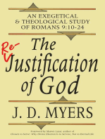 The Re-Justification of God