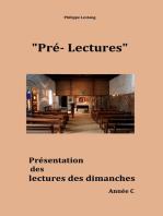 Pré-lectures C
