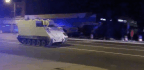Police Say Soldier Stole Armored Vehicle And Led Them On 2-Hour Chase