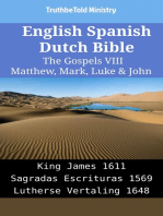 English Spanish Dutch Bible - The Gospels VIII - Matthew, Mark, Luke & John