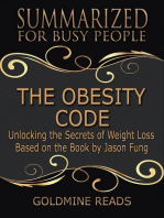 The Obesity Code - Summarized for Busy People