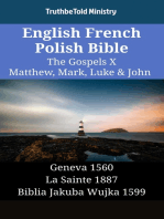 English French Polish Bible - The Gospels X - Matthew, Mark, Luke & John
