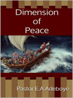 Dimension of Peace
