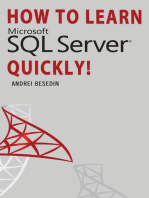 How To Learn Microsoft SQL Server Quickly!