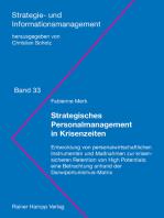 Strategisches Personalmanagement in Krisenzeiten