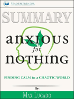 Summary of Anxious for Nothing