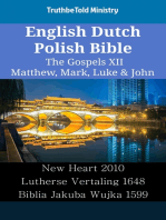 English Dutch Polish Bible - The Gospels XII - Matthew, Mark, Luke & John