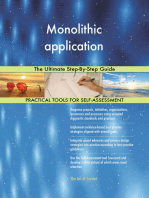 Monolithic application The Ultimate Step-By-Step Guide