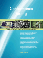 Conformance testing A Complete Guide