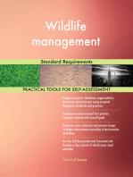 Wildlife management Standard Requirements