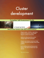 Cluster development Complete Self-Assessment Guide