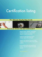 Certification listing The Ultimate Step-By-Step Guide