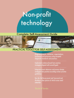 Non-profit technology Complete Self-Assessment Guide
