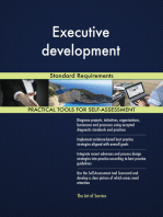 Executive development Standard Requirements