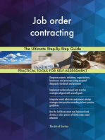 Job order contracting The Ultimate Step-By-Step Guide