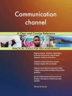 Communication channel A Clear and Concise Reference