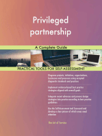 Privileged partnership A Complete Guide