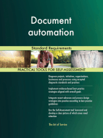 Document automation Standard Requirements