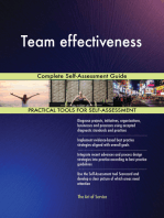 Team effectiveness Complete Self-Assessment Guide
