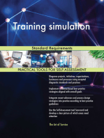 Training simulation Standard Requirements