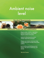 Ambient noise level Standard Requirements