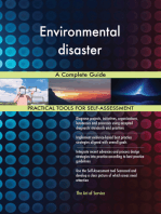 Environmental disaster A Complete Guide