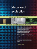 Educational evaluation A Clear and Concise Reference