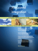 Horizontal integration Complete Self-Assessment Guide