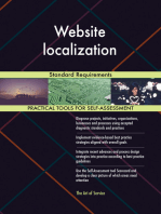 Website localization Standard Requirements