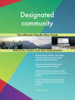 Designated community The Ultimate Step-By-Step Guide