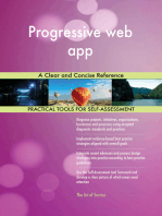 Progressive web app A Clear and Concise Reference