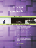 Process specification Third Edition