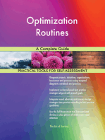 Optimization Routines A Complete Guide