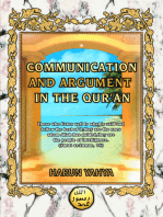 Communication and Argument in the Qur'an