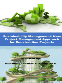 Sutainability Management: New Approach in Project Management for Construction Projects
