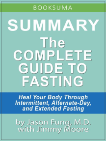 Summary: The Complete Guide to Fasting by Jason Fung, MD