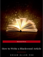 How to Write a Blackwood Article