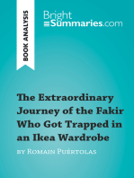 The Extraordinary Journey of the Fakir Who Got Trapped in an Ikea Wardrobe by Romain Puértolas (Book Analysis): Detailed Summary, Analysis and Reading Guide