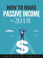 How to Make Passive Income in 2018