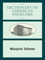 Dictionary of American Folklore
