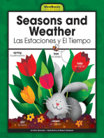 Seasons and Weather/Las Estaciones y El Tiempo