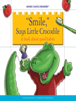 'Smile,' Says Little Crocodile