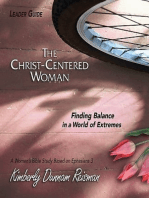 The Christ-Centered Woman - Women's Bible Study Leader Guide