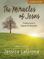 The Miracles of Jesus - Women's Bible Study Leader Guide