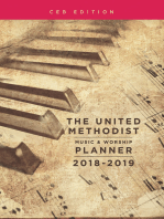 The United Methodist Music & Worship Planner 2018-2019 CEB Edition