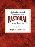 Introducción al asesoramiento pastoral de la familia AETH: Introduction to Pastoral Family Counseling Spanish
